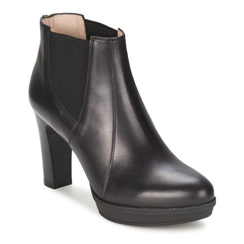 Παπούτσια Γυναίκα Μποτίνια Unisa MIJAL Black