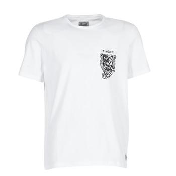 Υφασμάτινα Άνδρας T-shirt με κοντά μανίκια Element ATTACK SS άσπρο