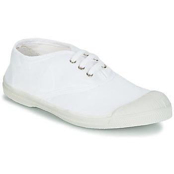 Παπούτσια Παιδί Χαμηλά Sneakers Bensimon TENNIS LACET άσπρο