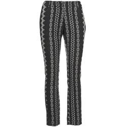 Υφασμάτινα Γυναίκα Παντελόνια Πεντάτσεπα Manoush TAILLEUR Grey / Black