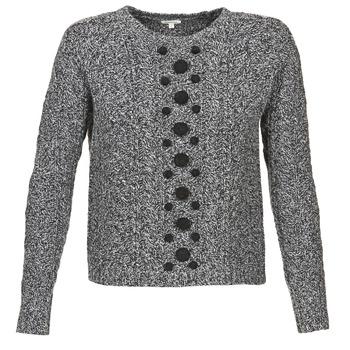 Υφασμάτινα Γυναίκα Πουλόβερ Manoush TORSADE Grey / Black