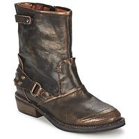 Παπούτσια Γυναίκα Μπότες Sans Interdit HASHLEY Κανέλα