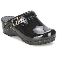 Παπούτσια Γυναίκα Σαμπό Sanita FREYA Black