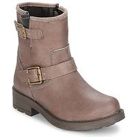 Παπούτσια Κορίτσι Μπότες για την πόλη Citrouille et Compagnie JENY Taupe