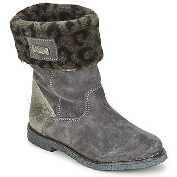 Παπούτσια Κορίτσι Μπότες Le Temps des Cerises JUNIOR EVA Grey