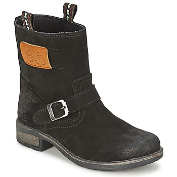 Παπούτσια Κορίτσι Μπότες Le Temps des Cerises JUNIOR ALOE Black