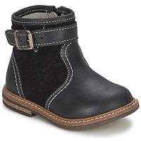 Παπούτσια Αγόρι Μπότες Citrouille et Compagnie LOOPI Black