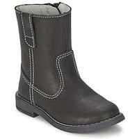 Παπούτσια Αγόρι Μπότες για την πόλη Citrouille et Compagnie EMALI Black
