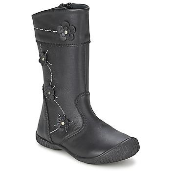 Παπούτσια Κορίτσι Μπότες για την πόλη Citrouille et Compagnie AMATIS Black