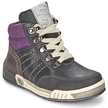 Παπούτσια Αγόρι Ψηλά Sneakers Garvalin TOMAS Grey / Violet