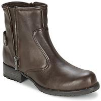 Παπούτσια Γυναίκα Μπότες One Step IAGO Choco