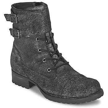 Παπούτσια Γυναίκα Μπότες One Step IDAN Argentée