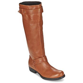Παπούτσια Γυναίκα Μπότες για την πόλη One Step IANNI Caramel