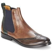 Παπούτσια Γυναίκα Μπότες Melvin & Hamilton AMÉLIE 5 Brown / Green / Yellow