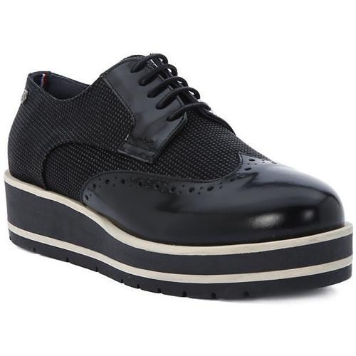 Παπούτσια Γυναίκα Derby Tommy Hilfiger DANY Nero