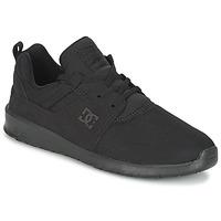 Παπούτσια Άνδρας Χαμηλά Sneakers DC Shoes HEATHROW M SHOE 3BK Black