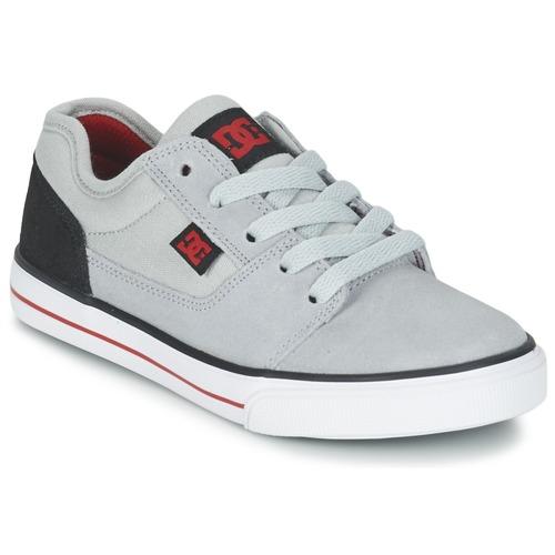 Παπούτσια Αγόρι Χαμηλά Sneakers DC Shoes TONIK B SHOE XSKR Grey / Black / Red