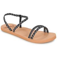 Παπούτσια Γυναίκα Σαγιονάρες Roxy LUANA J SNDL BLK Black