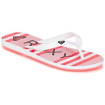 Παπούτσια Κορίτσι Σαγιονάρες Roxy RG TAHITI V G SNDL WBD Άσπρο / Black / Ροζ