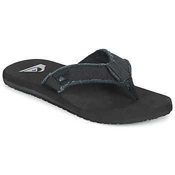 Παπούτσια Άνδρας Σαγιονάρες Quiksilver MONKEY ABYSS Black