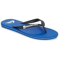 Παπούτσια Άνδρας Σαγιονάρες Quiksilver MOLOKAI Black / Μπλέ / Άσπρο