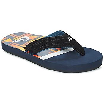 Παπούτσια Παιδί Σαγιονάρες Quiksilver BASIS-YT B SNDL XBWN Black / Μπλέ / Orange