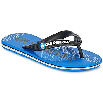 Παπούτσια Παιδί Σαγιονάρες Quiksilver MOLOKAI NITROYT Black / Μπλέ