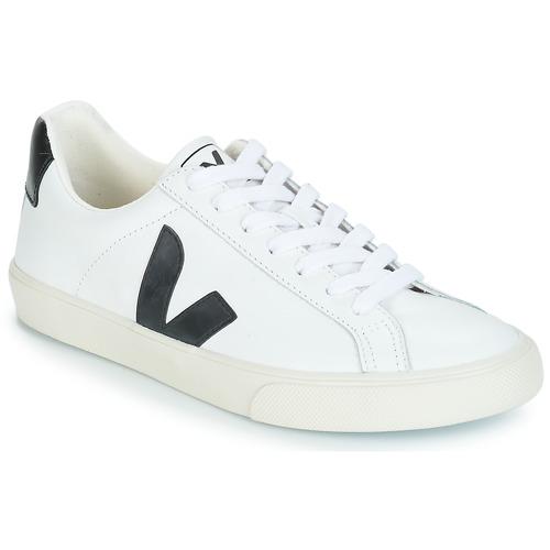 Παπούτσια Χαμηλά Sneakers Veja ESPLAR LOW LOGO Άσπρο / Black