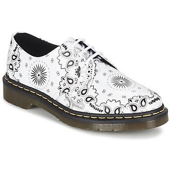 Παπούτσια Derby Dr Martens 1461 άσπρο / Black