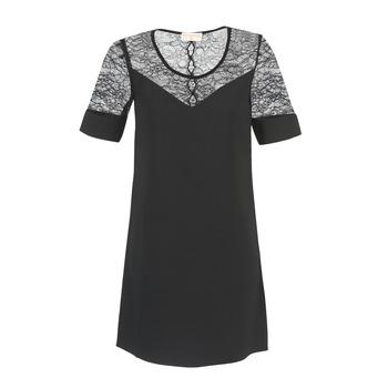 Υφασμάτινα Γυναίκα Κοντά Φορέματα Moony Mood FUFU Black