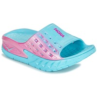Παπούτσια Γυναίκα Water shoes Hoka one one W BONDI SLIDE μπλέ / ροζ