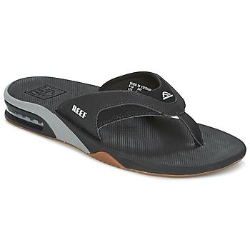 Παπούτσια Άνδρας Σαγιονάρες Reef FANNING Black / Grey
