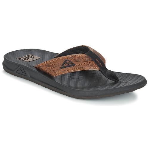 Παπούτσια Άνδρας Σαγιονάρες Reef PHANTOM PRINTS Black / Brown