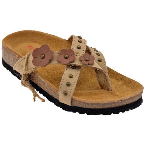 Παπούτσια Γυναίκα Σαγιονάρες Lumberjack  Beige