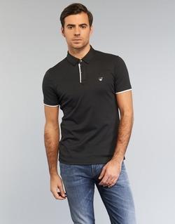 Υφασμάτινα Άνδρας Πόλο με κοντά μανίκια  Armani jeans MEDIFOLA Black