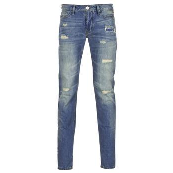 Υφασμάτινα Άνδρας Skinny Τζιν  Armani jeans NAKAJOL μπλέ
