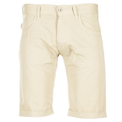 Υφασμάτινα Άνδρας Σόρτς / Βερμούδες Armani jeans OFAGORA Beige