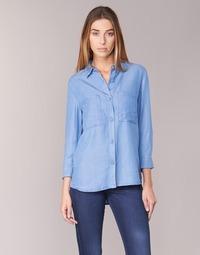 Υφασμάτινα Γυναίκα Πουκάμισα Armani jeans OUSKILA μπλέ