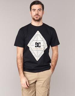 Υφασμάτινα Άνδρας T-shirt με κοντά μανίκια DC Shoes LONG DAY SS Black