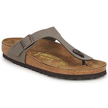 Παπούτσια Γυναίκα Σαγιονάρες Birkenstock GIZEH Stone