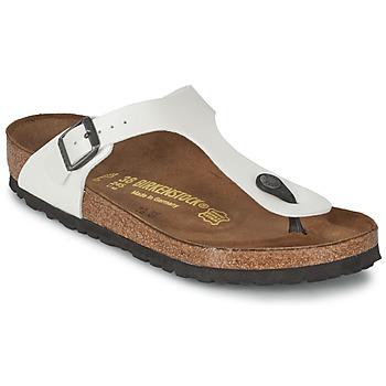 Παπούτσια Γυναίκα Σαγιονάρες Birkenstock GIZEH Άσπρο / Nacre