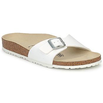Παπούτσια Γυναίκα Τσόκαρα Birkenstock MADRID Άσπρο / Ματ