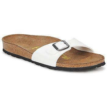 Παπούτσια Γυναίκα Τσόκαρα Birkenstock MADRID άσπρο / NACRE