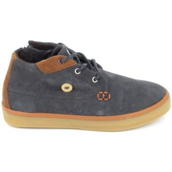Παπούτσια Παιδί Ψηλά Sneakers Faguo Wattle Suede BB Gris Grey