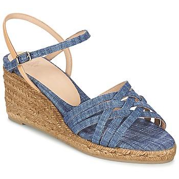 Παπούτσια Γυναίκα Σανδάλια / Πέδιλα Castaner BETSY Μπλέ / Beige