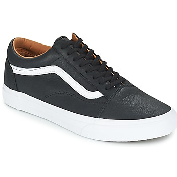 Παπούτσια Άνδρας Χαμηλά Sneakers Vans OLD SKOOL Black / άσπρο