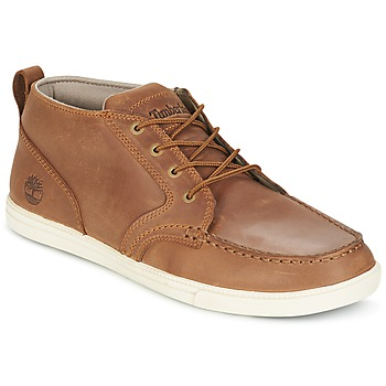 Παπούτσια Άνδρας Χαμηλά Sneakers Timberland FULK LP CHUKKA MT LEATHER Brown