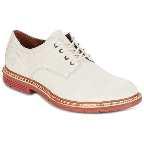Παπούτσια Άνδρας Derby Timberland NAPLES TRAIL OXFORD άσπρο