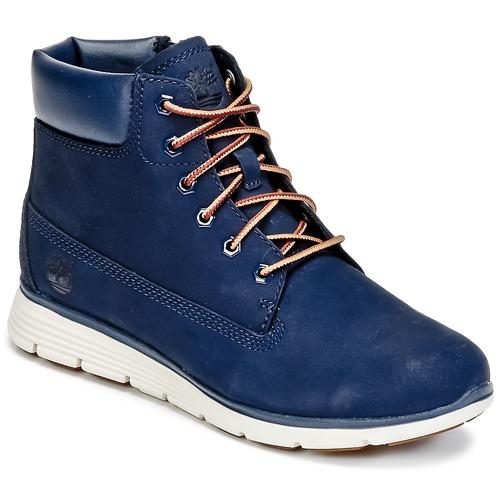 Παπούτσια Παιδί Μπότες Timberland KILLINGTON 6 IN Μπλέ