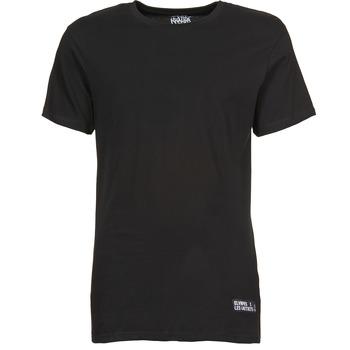 Υφασμάτινα Άνδρας T-shirt με κοντά μανίκια Eleven Paris HALIF Black